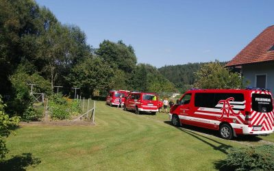 Abschnitt 3: Feuerwehrjugend beim Bachsteigen