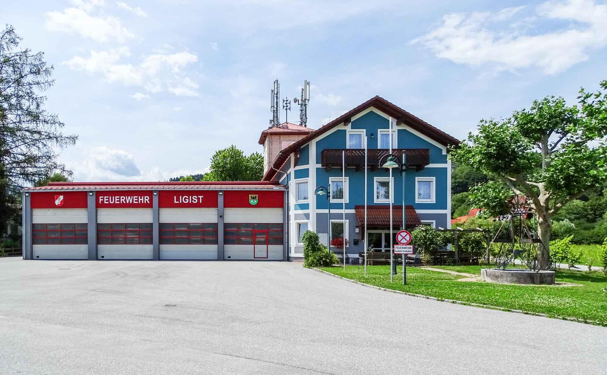 Rüsthaus der Feuerwehr Markt Ligist