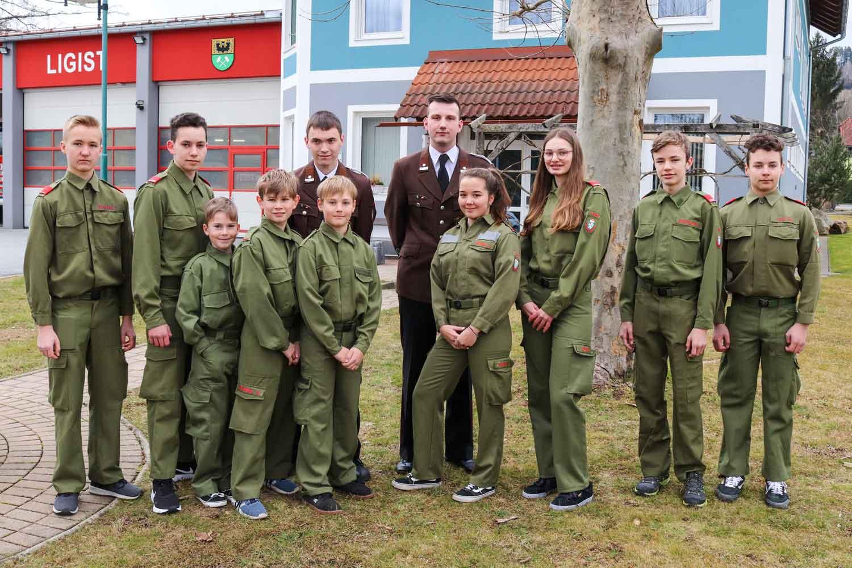 Jugend der FF Ligist