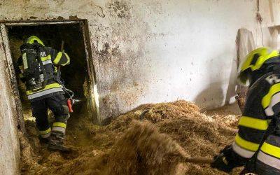 Brandeinsatz in Oberwald
