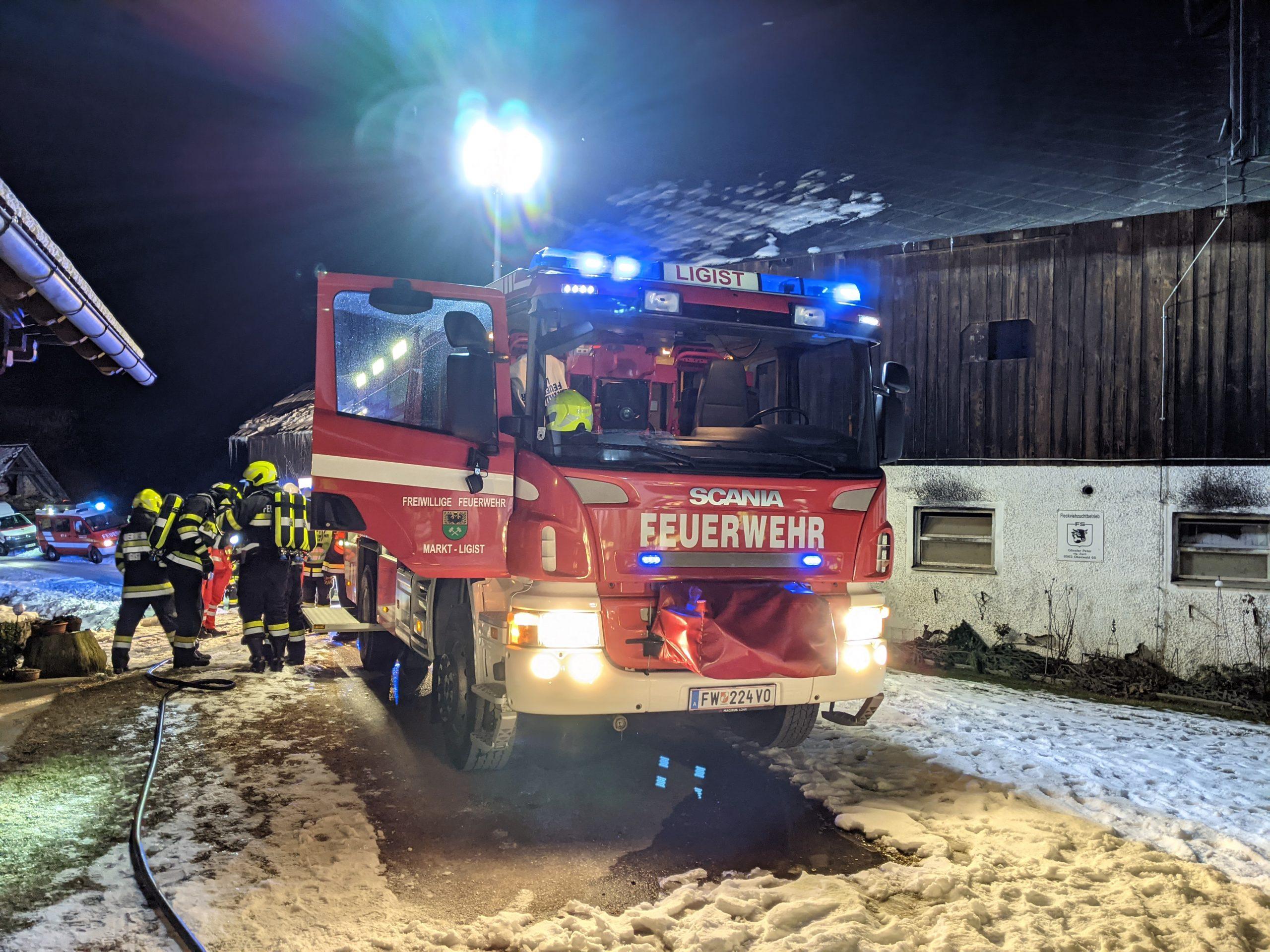 Kellerbrand in Oberwald