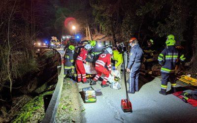 ++ Schwerer Unfall in Unterwald ++